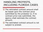 handling protests including florida cases121
