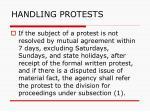 handling protests128