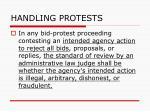 handling protests132