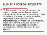 public records requests141