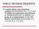 public records requests142