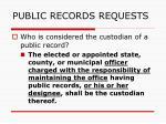 public records requests143