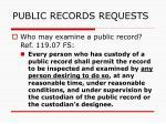 public records requests144