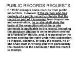 public records requests146