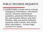 public records requests147