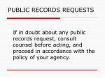 public records requests149