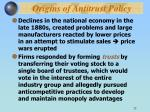origins of antitrust policy22