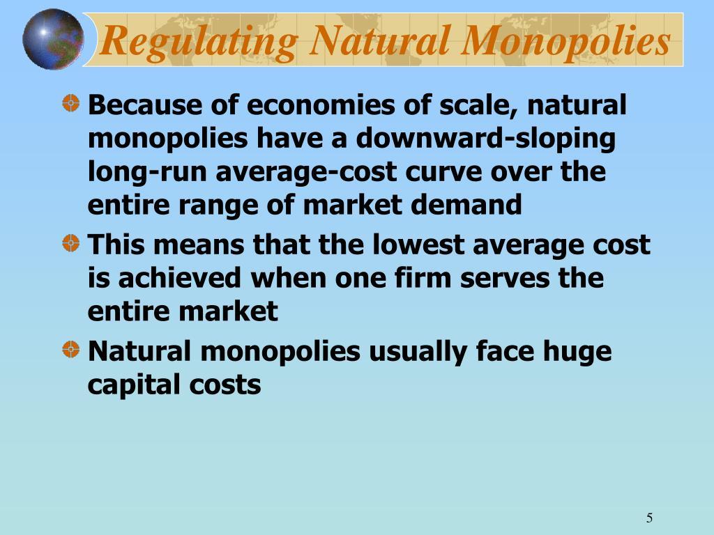 Regulating Natural Monopolies