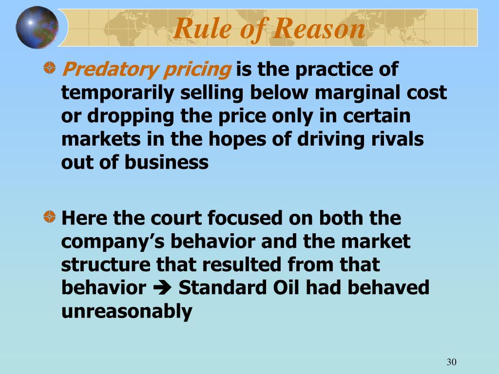 Rule of Reason
