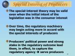 special interest of producers18