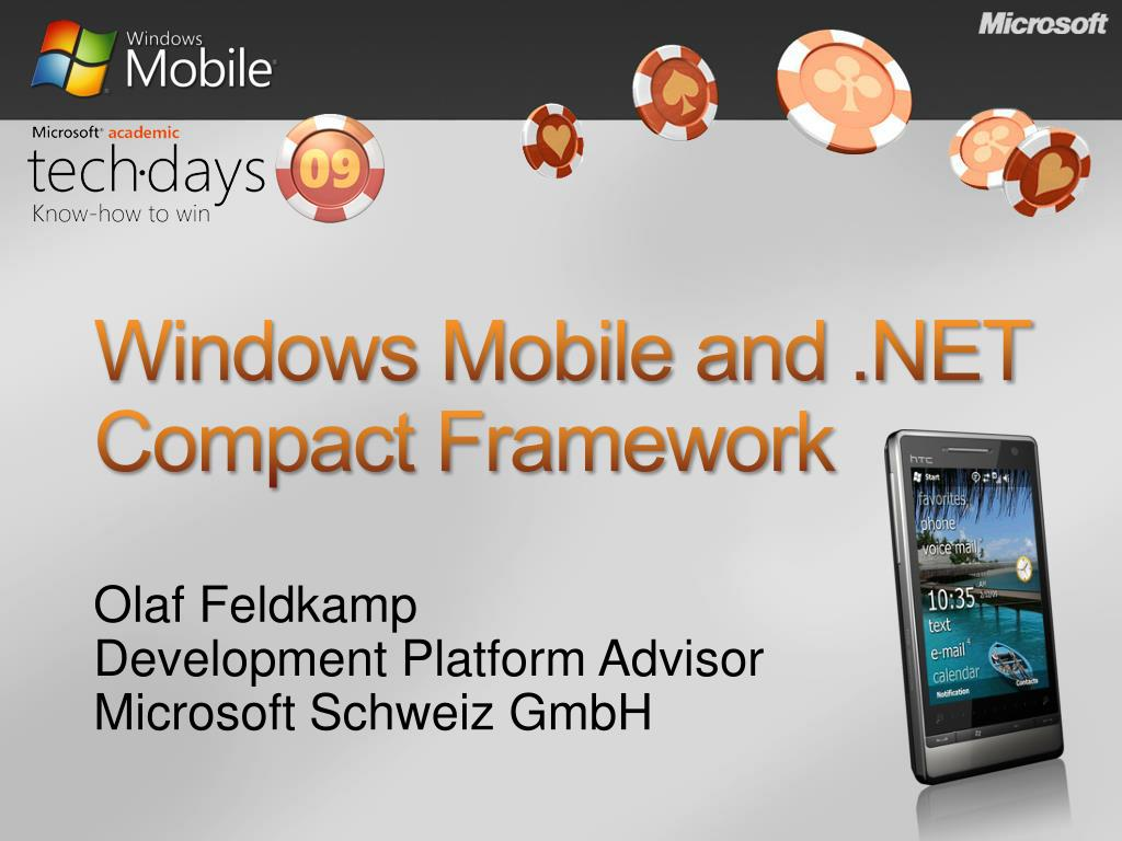 windows mobile and net compact framework l.