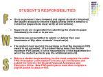 student s responsibilities11