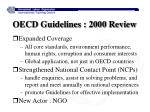 oecd guidelines 2000 review