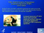 public health emergency preparedness cooperative agreement phep 14 5 million