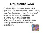 civil rights laws8