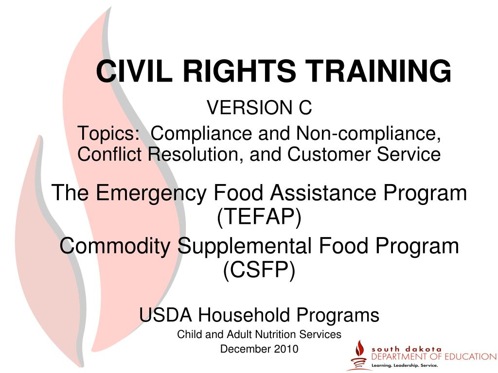 civil rights training l.