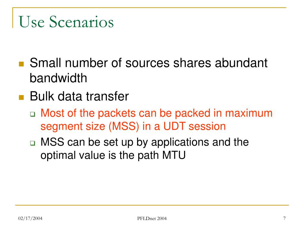 Use Scenarios