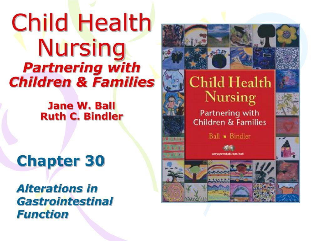 child health nursing partnering with children families l.