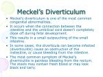 meckel s diverticulum
