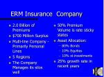erm insurance company