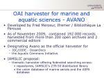 oai harvester for marine and aquatic sciences avano