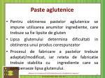 paste aglutenice