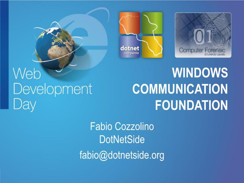 windows communication foundation l.