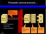firewalls cannot prevent12