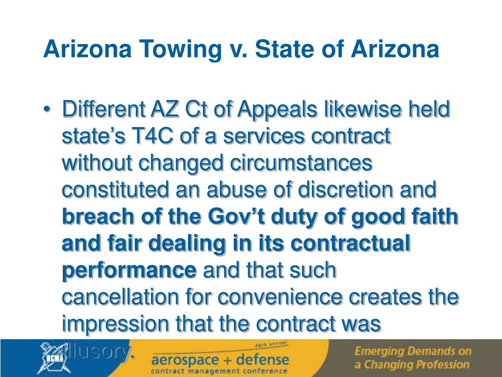 Arizona Towing v. State of Arizona