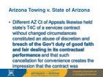 arizona towing v state of arizona