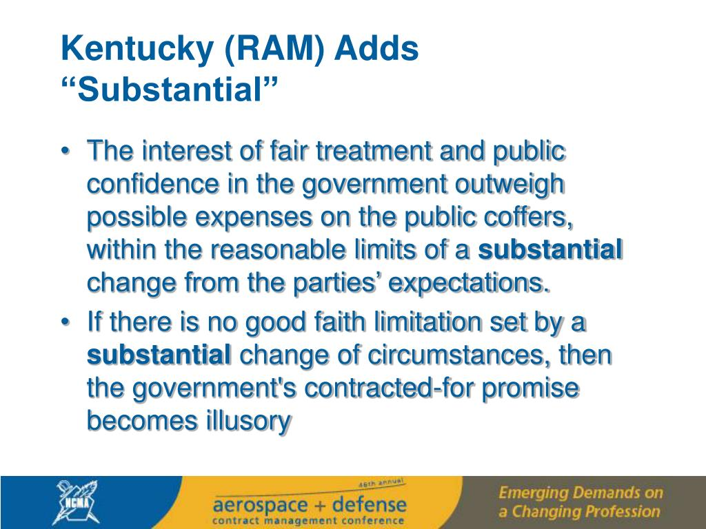 "Kentucky (RAM) Adds ""Substantial"""