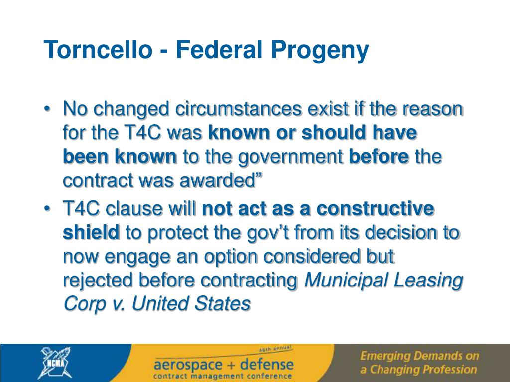 Torncello - Federal Progeny