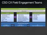 csd cx field engagement teams