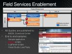 field services enablement
