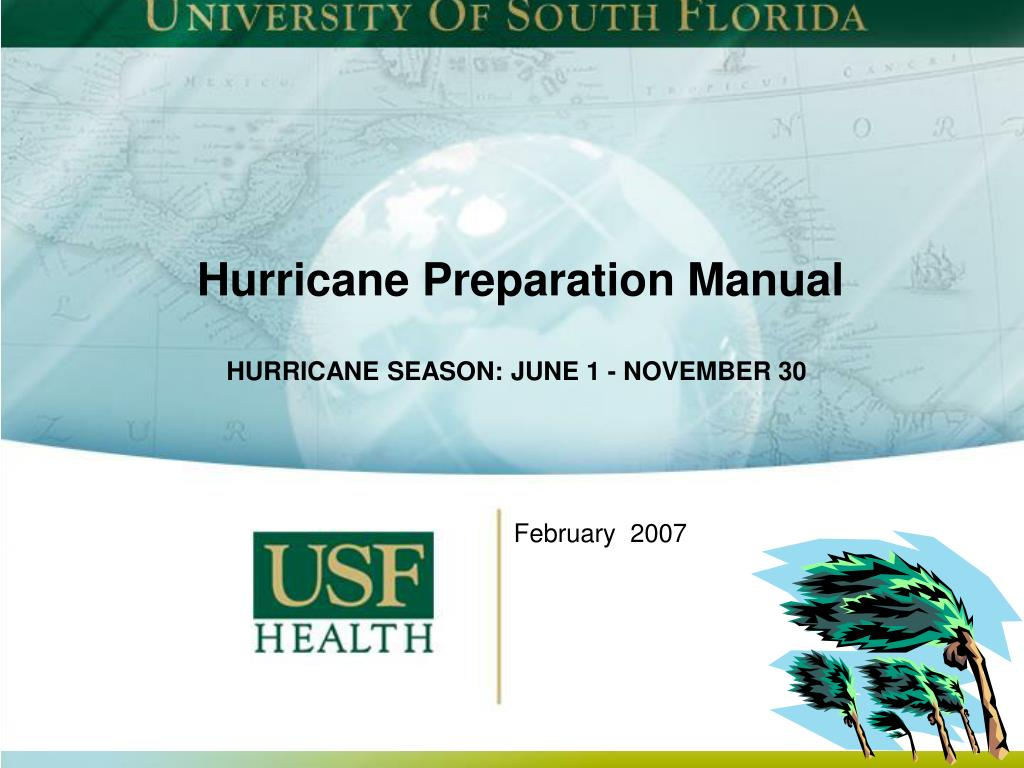 hurricane preparation manual l.