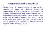 intercommodity spread 2