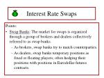 interest rate swaps63
