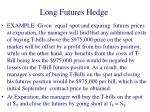 long futures hedge8