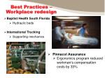best practices workplace redesign