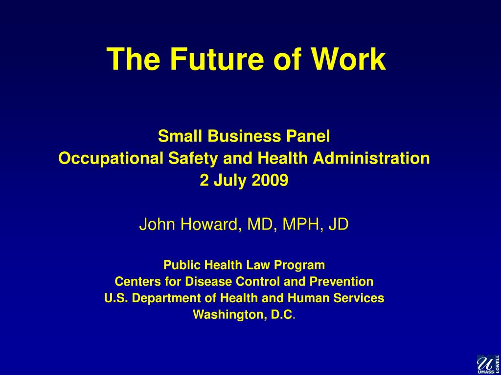 the future of work l.
