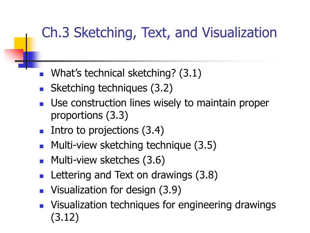 ch 3 sketching text and visualization l.