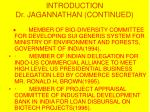 introduction dr jagannathan continued10