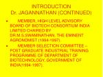 introduction dr jagannathan continued9