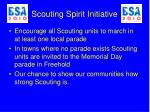 scouting spirit initiative