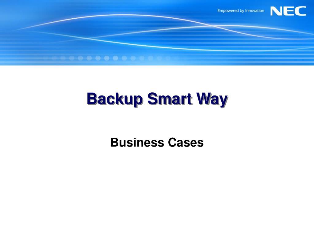 backup smart way l.