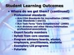 student learning outcomes16