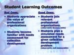 student learning outcomes19