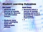 student learning outcomes21