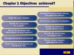 chapter 1 objectives achieved