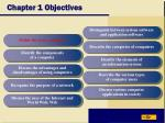 chapter 1 objectives